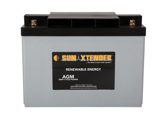 CONCORD: Sun Xtender SEALED AGM BATTERY (PVX-1040T)