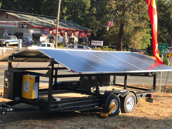 Mobile Solar Power Wagon™ 120 V configuration