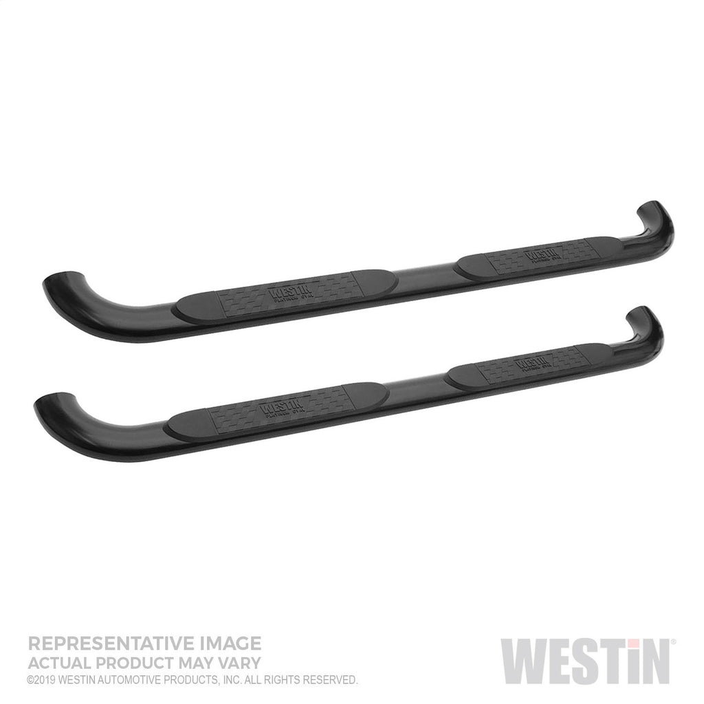 Platinum 4 Oval Nerf Step Bars 21-4125 Westin