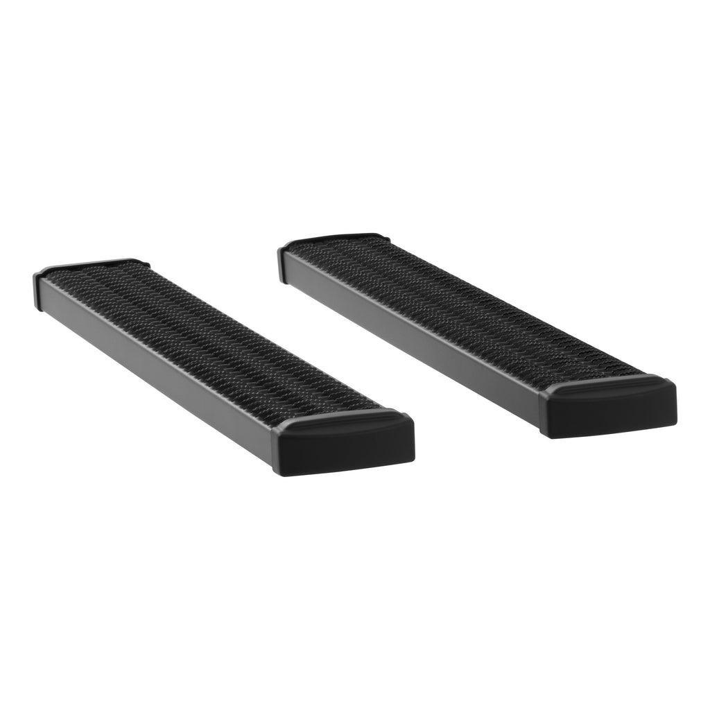 "Grip Step 7"" x 54"" Black Aluminum Running Boards (No Brackets) 415054 Luverne"