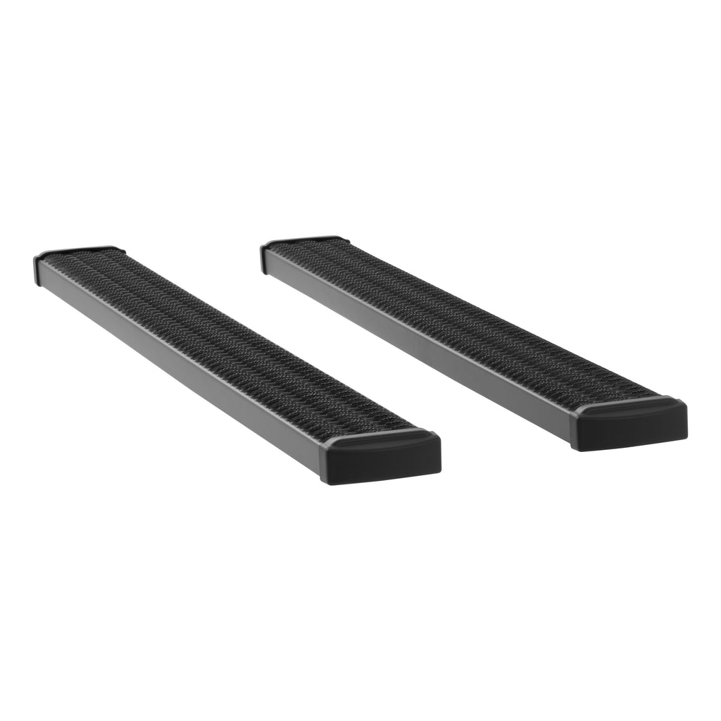 "Grip Step 7"" x 78"" Black Aluminum Running Boards, Select Chevrolet, GMC 415078-400713 Luverne"