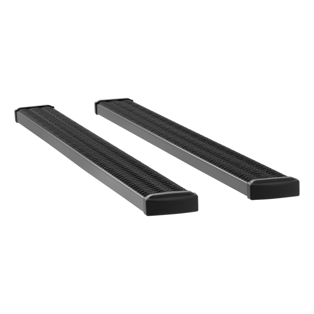 "Grip Step 7"" x 88"" Black Aluminum Running Boards, Select Silverado, Sierra Crew 415088-401445 Luverne"