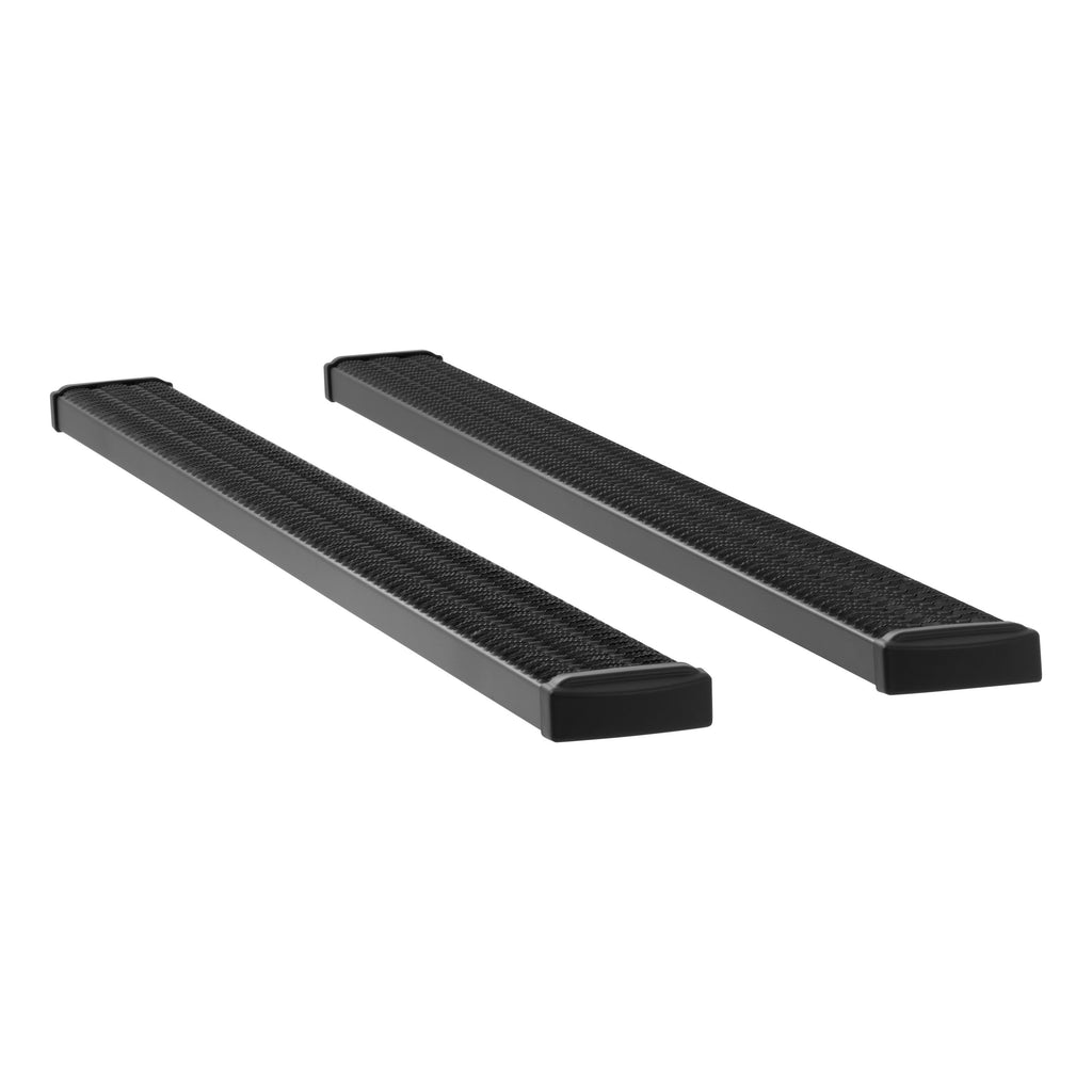 "Grip Step 7"" x 98"" Black Aluminum Running Boards (No Brackets) 415098 Luverne"
