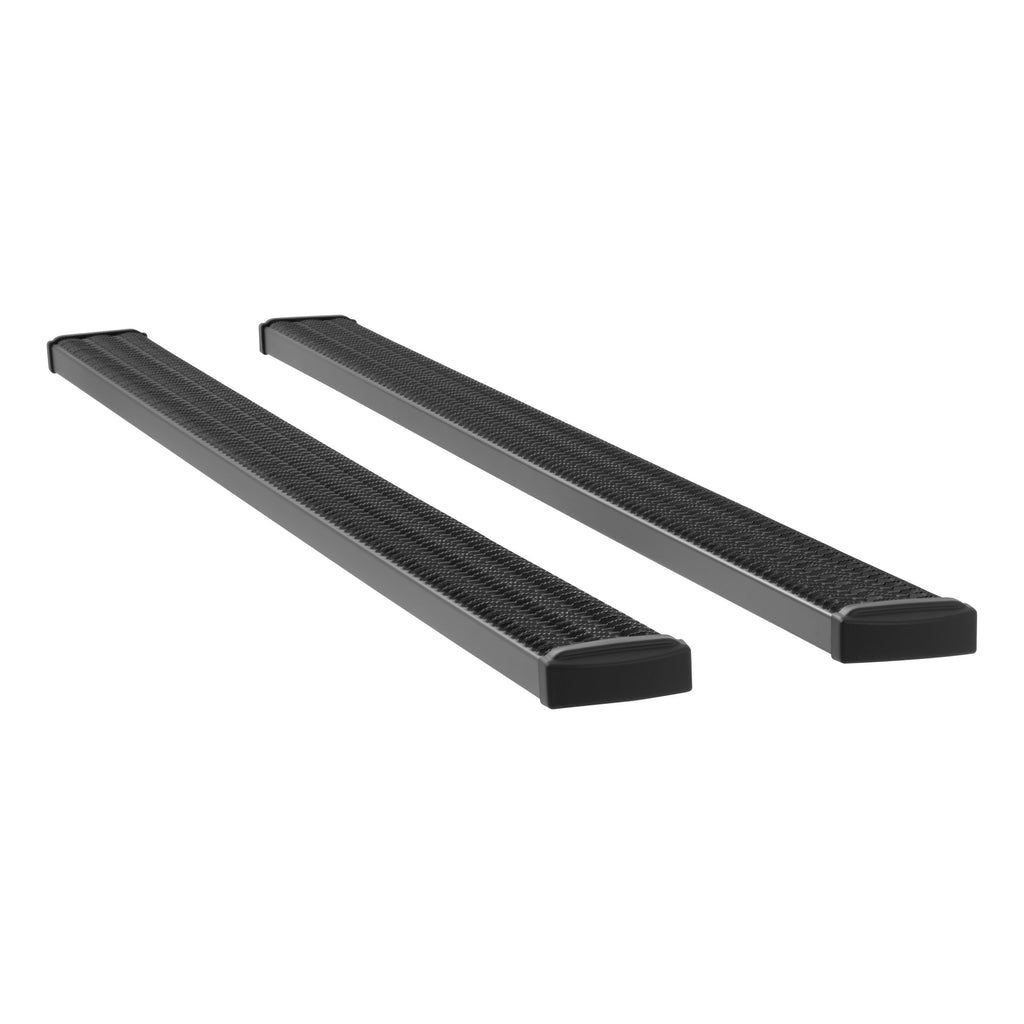 "Grip Step 7"" x 125"" Black Aluminum Running Boards (No Brackets) 415125 Luverne"