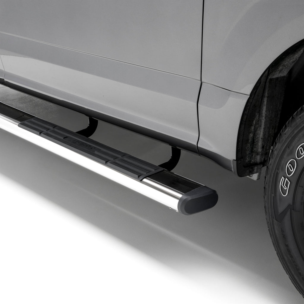 "6"" x 91"" Polished Stainless Oval Side Bars, Select Ram 1500 Crew Cab 4444047 Aries"