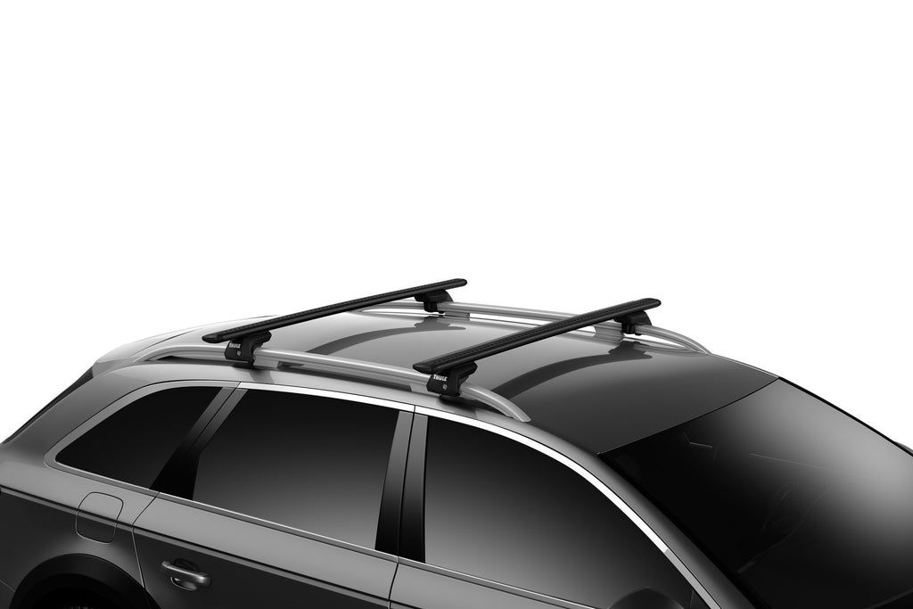"Thule 150 Wingbar EVO 711520 60"" Black load Bars Roof Rack"