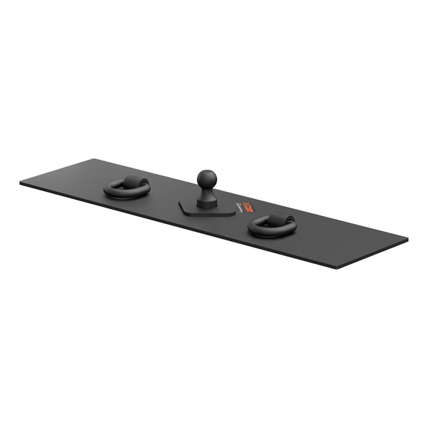 Over-Bed Flat Plate Gooseneck Hitch 65500 Curt