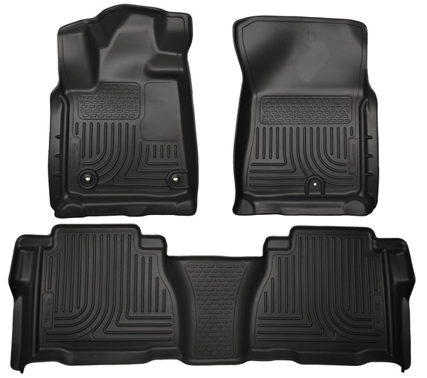 Front & 2nd Seat Floor Liners (Footwell Coverage) 99591 Husky