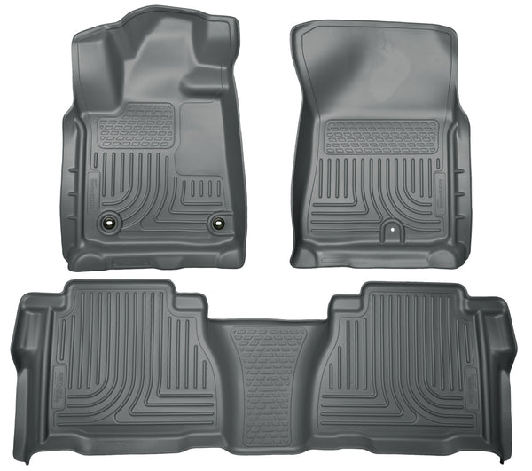 Front & 2nd Seat Floor Liners (Footwell Coverage) 99592 Husky