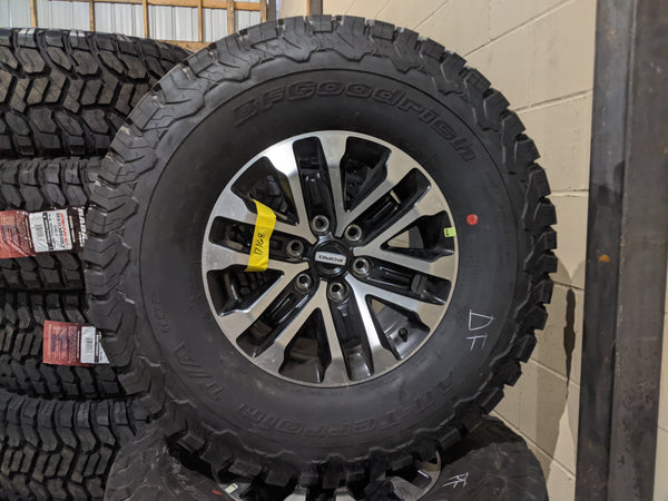 "2020 17"" Ford F-150 Raptor OEM rims wheels BFG tires"