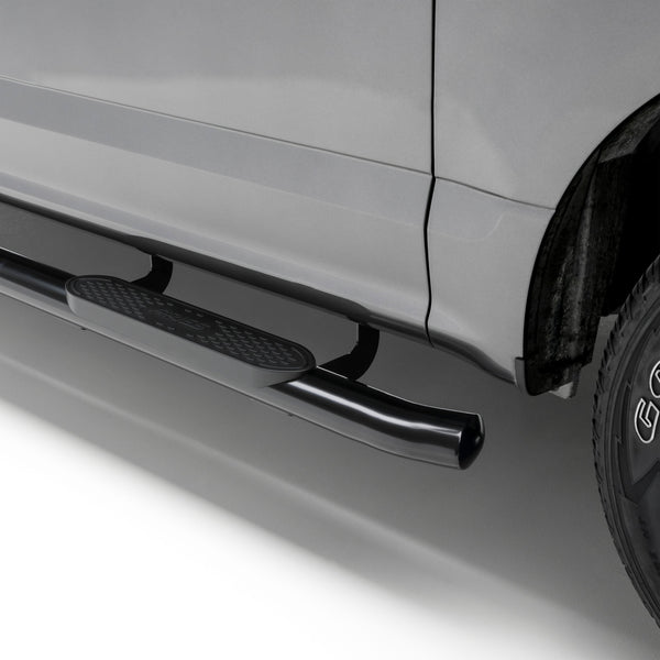 "4"" Black Steel Oval Side Bars, Select Dodge, Ram 1500, 2500, 3500 S225041 Aries"
