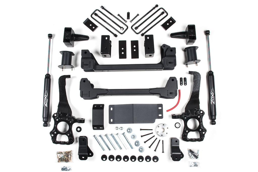"Zone Offroad 6"" Suspension System 2015-2020 Ford F-150 4WD F53N"