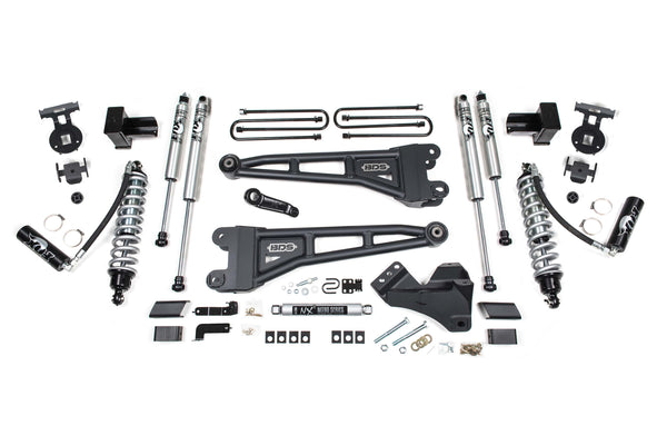 "BDS Suspension 4"" Coilover Radius Arm Lift Systems for 2020 Ford F250/F350 4WD Diesel Only 1551F"