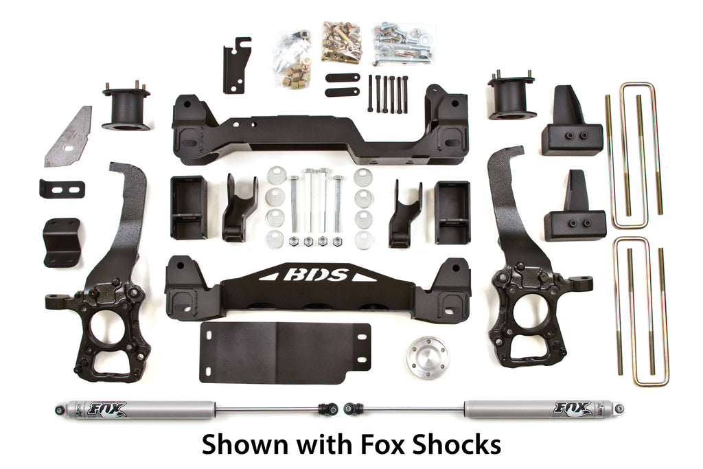 "BDS Suspension 4"" Suspension Lift Kit 2009-2013 Ford F150 4WD 598H"