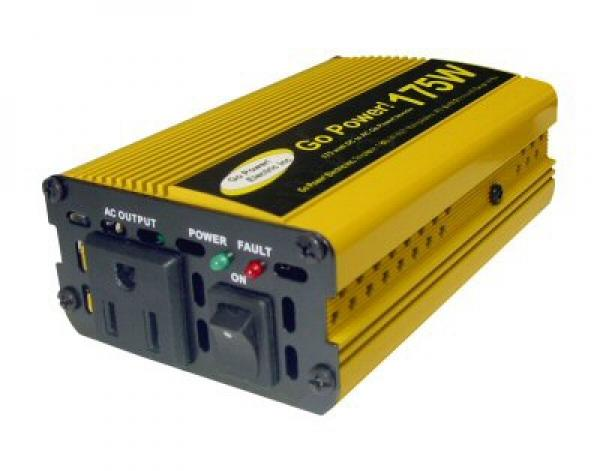Waldoch Go Power! 175 Watt Modified Sine Wave Inverter GP-175