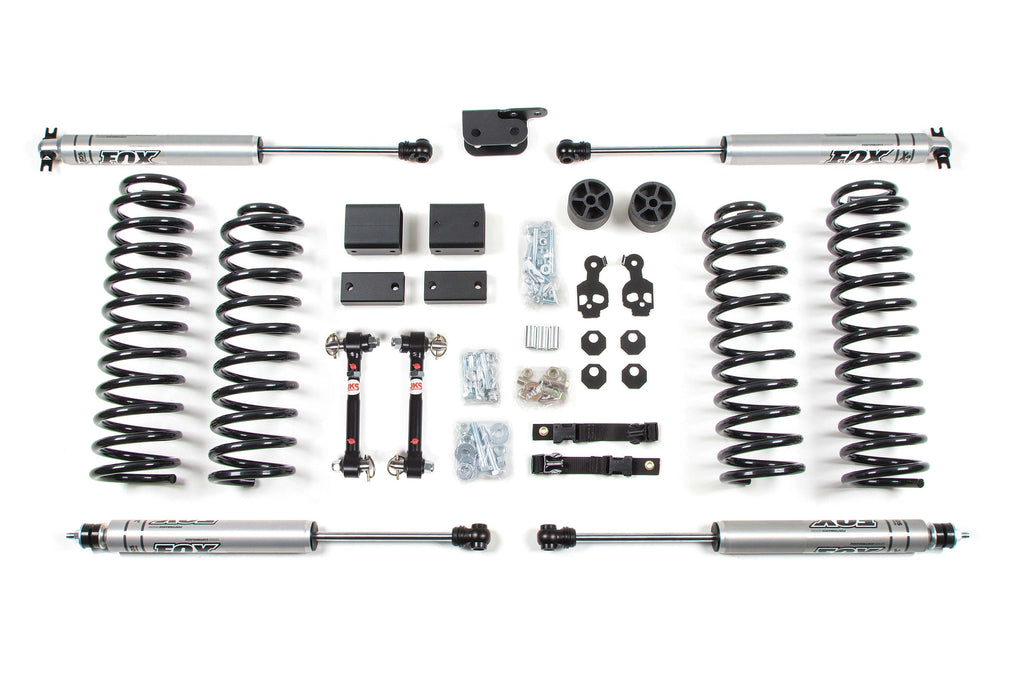 "BDS Suspension 3"" Suspension Lift Kit 2007-2011 Jeep Wrangler RHD JK 4 Door 1411H"
