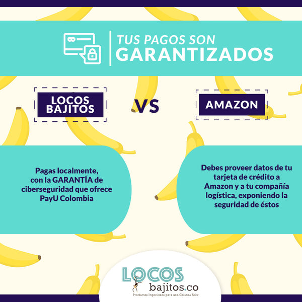 locosbajitos vs amazon pagos garantizados