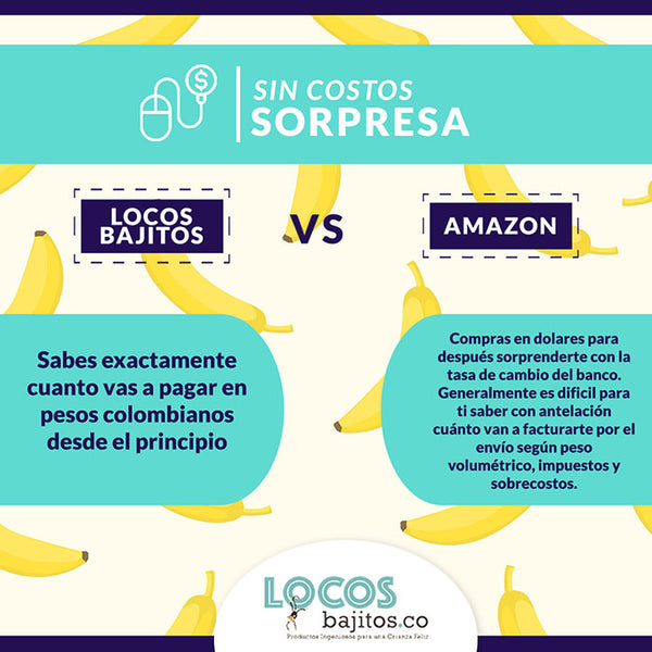 locosbajitos vs amazon sin costos sorpresa
