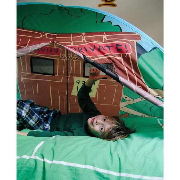 Carpa tipo domo para cama sencilla (twin) - Pacific Play Tents - LocosBajitos co
