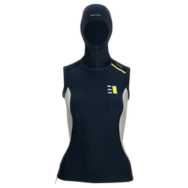 Atoll Hooded Vest Ladies Enth Degree