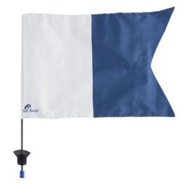 RA Flag & Pole - To Suit 7 Litre (Foam Filled)