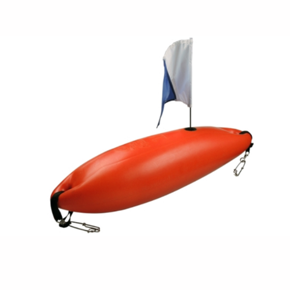 RA Rigid Float W Flag & Weight - (Foam Filled)