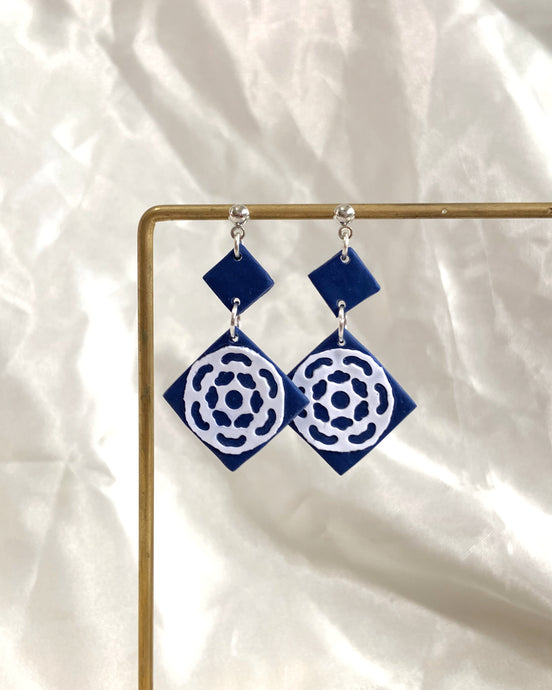 Moroccan Tiles - #3 Dangle