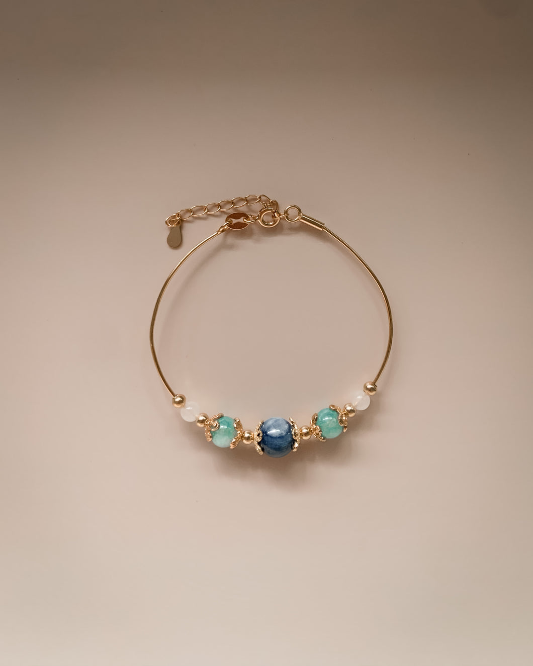 Crystals- Blue Adjustable Bracelets