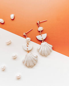 Pearly Shells II - #1 Dangle