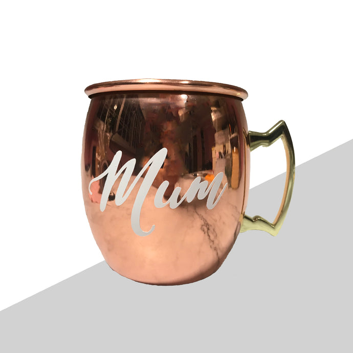 Rose Gold Mug with Personalised name