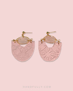 Crystal x Clay - #1 Pink Dangle (Backorder)