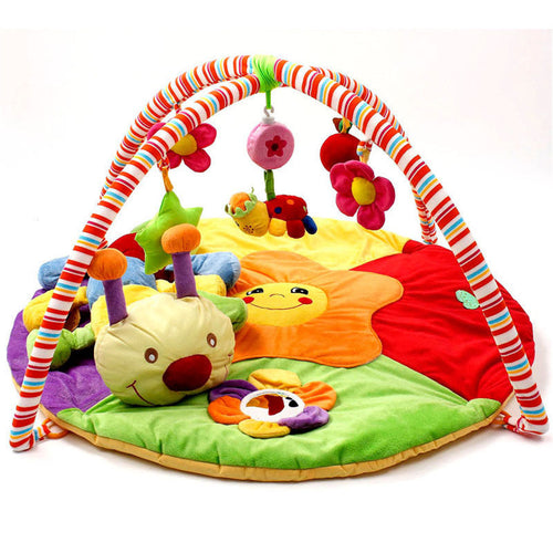Musical Infant Activity Gym Play Mat for Tummy Time