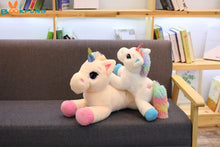 Fluffy Unicorn Stuffed Toy
