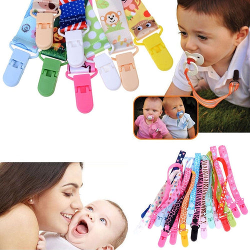 Adjustable Clip Chain Pacifier Holder