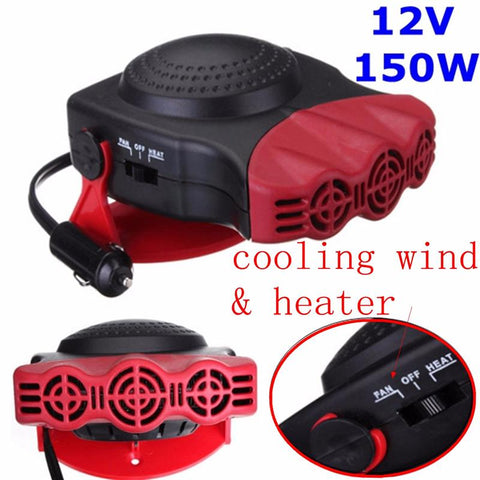 12V 150W Defrost and Defog Car Heater