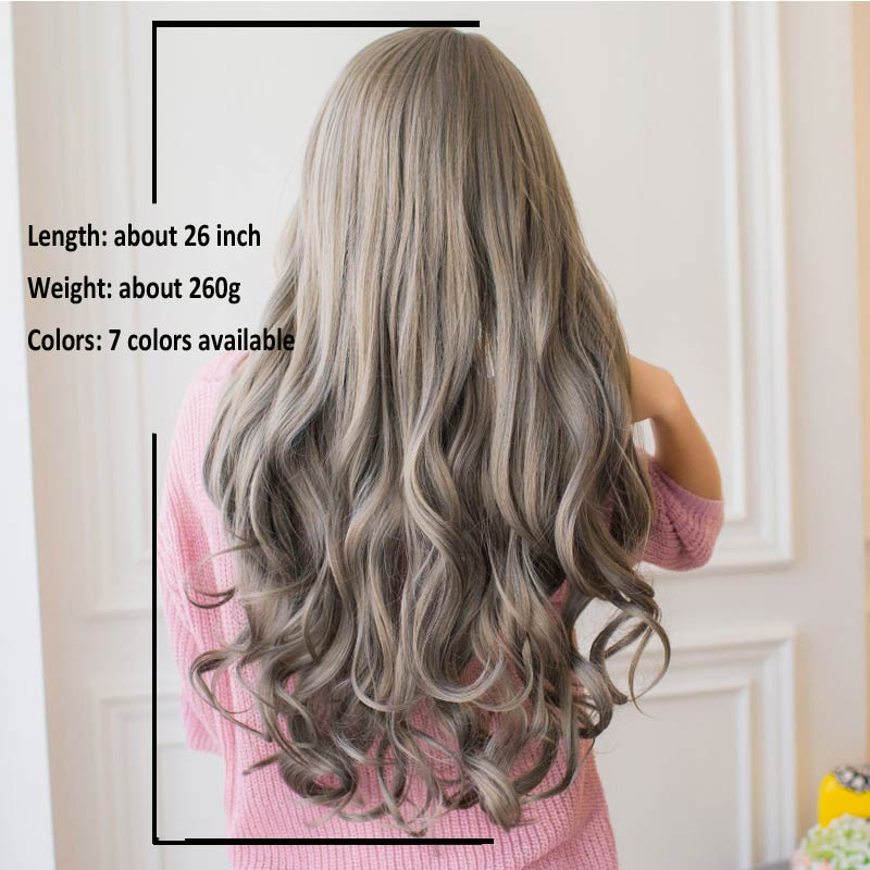 26 Long Wavy 10 Colored Hair Pieces Shoppers Nirvana