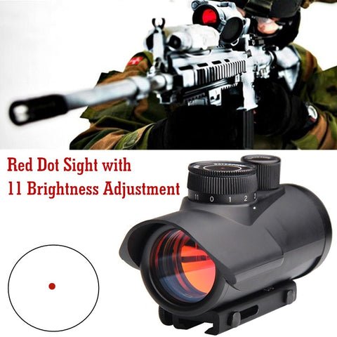 1 x 30mm Red Dot Sight Scope 11mm & 20mm Weaver Rail Mount HT5-0040