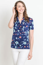 Load image into Gallery viewer, Floral Print Nursing Top