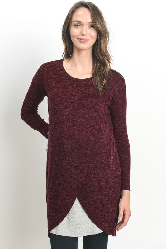 06db3176bc0 Long Sleeve Sweater Nursing Dress – Fit 4 Two Boutique