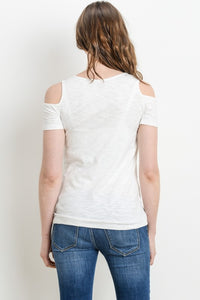 Open Shoulder Nursing Top