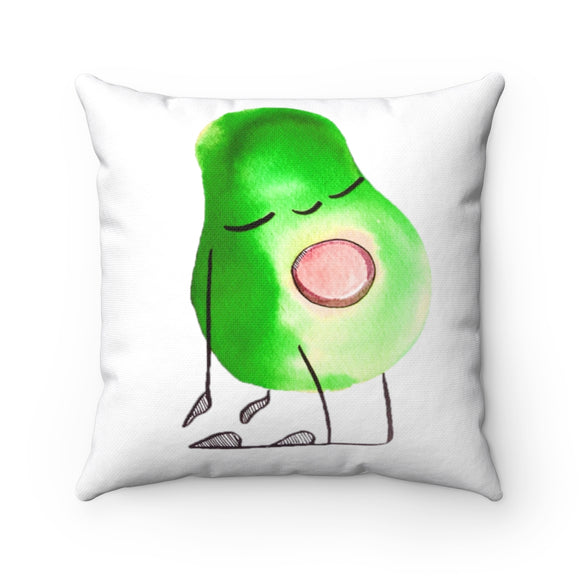Avo throw pillow-double sided