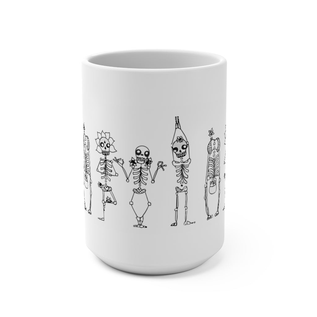 skeletea skeleton  Mug 15oz