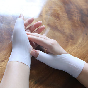 Silicone Gel Therapy Wrist Gloves