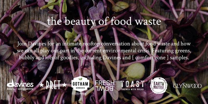 Davines Hosts 'The Beauty of Food Waste' as Part of New Rooftop Beauty Series