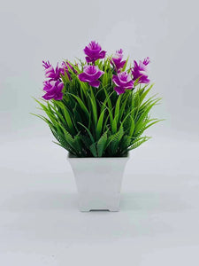 51-JM-FF05094, Artificial Potted Narcissus Flowering Bush ($11.40 for 6)