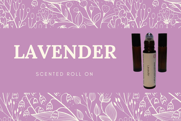 Lavender Scented Oil Roll-On