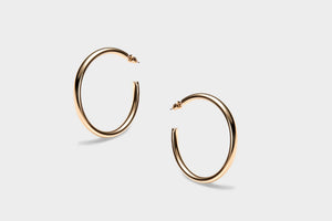 Robusto Hoops - CELESTE SOL Jewelry