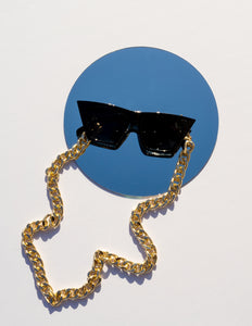 Havana 2 in 1 Mask/Sunglass Chain - CELESTE SOL Jewelry