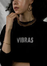 Vibras Cropped Crew Fleece Sweatshirt - CELESTE SOL Jewelry
