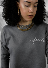 Cafecito Cropped Crew Fleece Sweatshirt - CELESTE SOL Jewelry